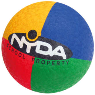 Coloured Low Pressure Playball 20cm